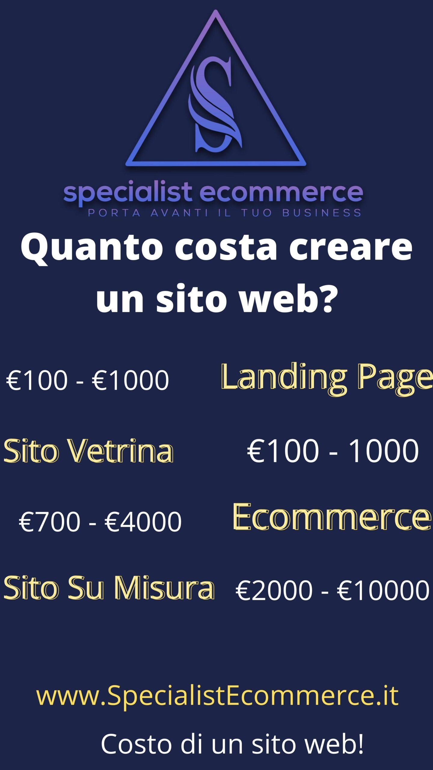 Quanto costa creare un sito web